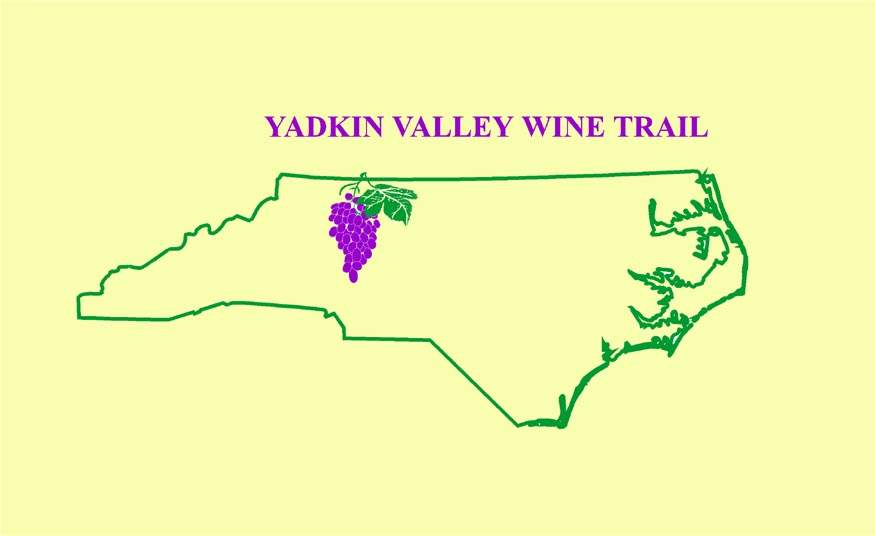 Yadkin Valley Wine Trail - 'The of North Carolina Wine Country' on placer county wineries map, auburn ca trail map, brandywine wine trail map, auburn calif wineries map, leelanau peninsula wineries map, dobson nc map, rattlesnake hills wineries map, nevada wineries map, auburn ca wineries map, texas hill country wineries map, north carolina wineries map, washington wineries map,
